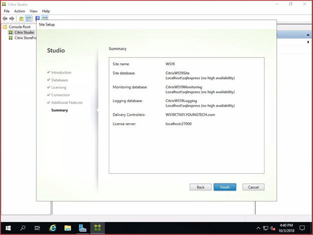 With Windows Server 2019, Getting Started with Citrix
